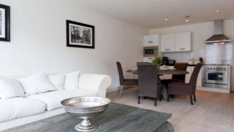 Living room at Executive Apartments, Amsterdam