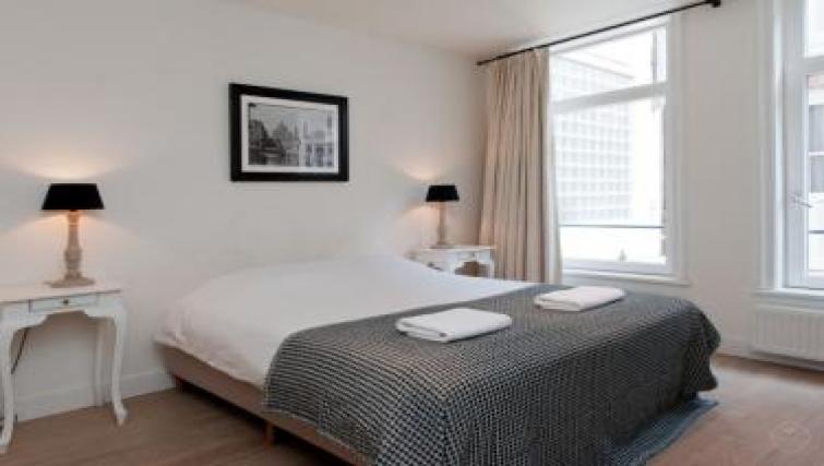Bed at Executive Apartments, Amsterdam