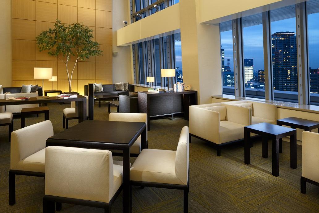 Residents' Lounge at Oakwood Residence Roppongi T-Cube Tokyo