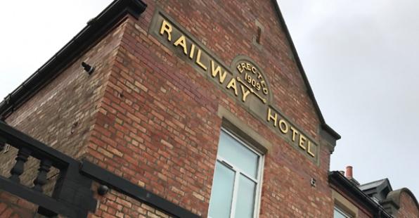 Exterior of Railway House Serviced Apartments, Centre, Darlington