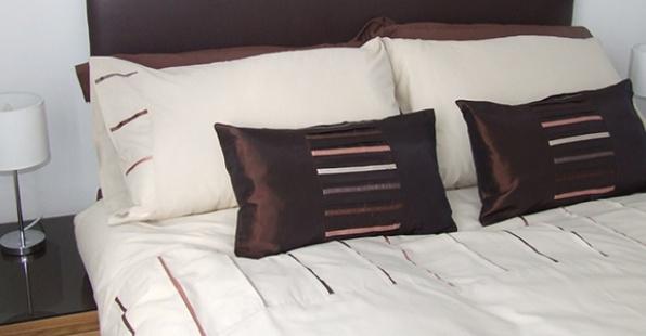 Bedding at Railway House Serviced Apartments, Centre, Darlington
