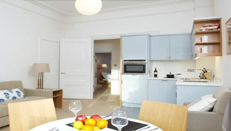 Dining area in Doughty Street