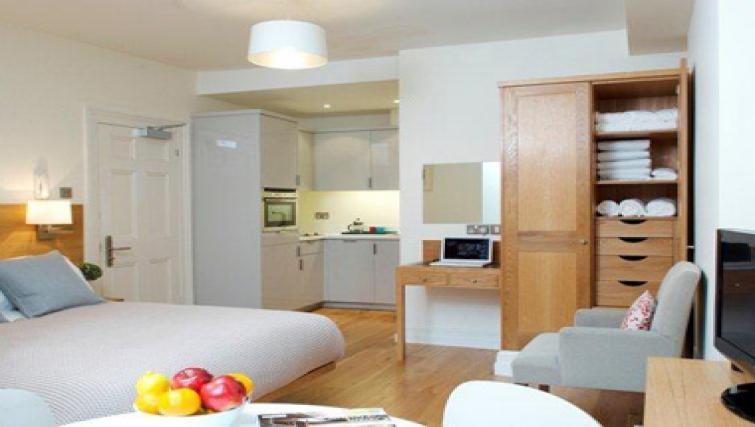 Living area in Doughty Street