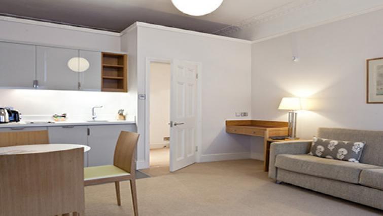 Lovely living area in Doughty Street