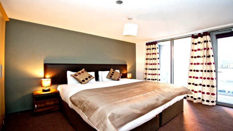 Amazing bedroom in Staycity Dublin Millennium Walk