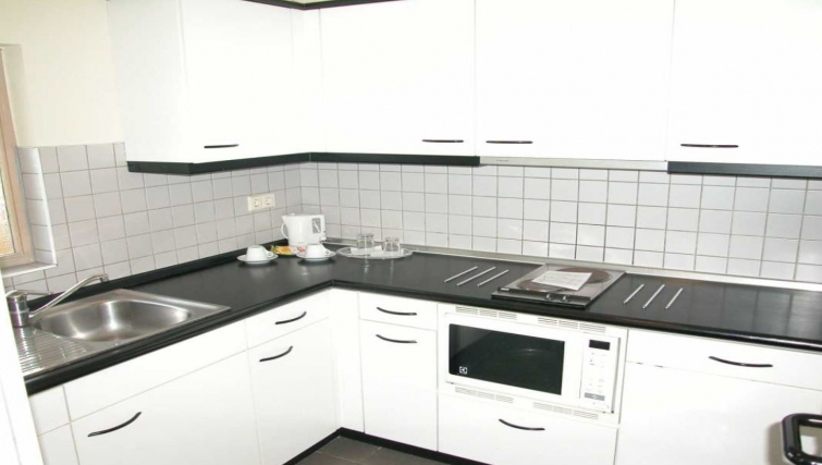 Immaculate kitchen in Route d Arlon Apartments