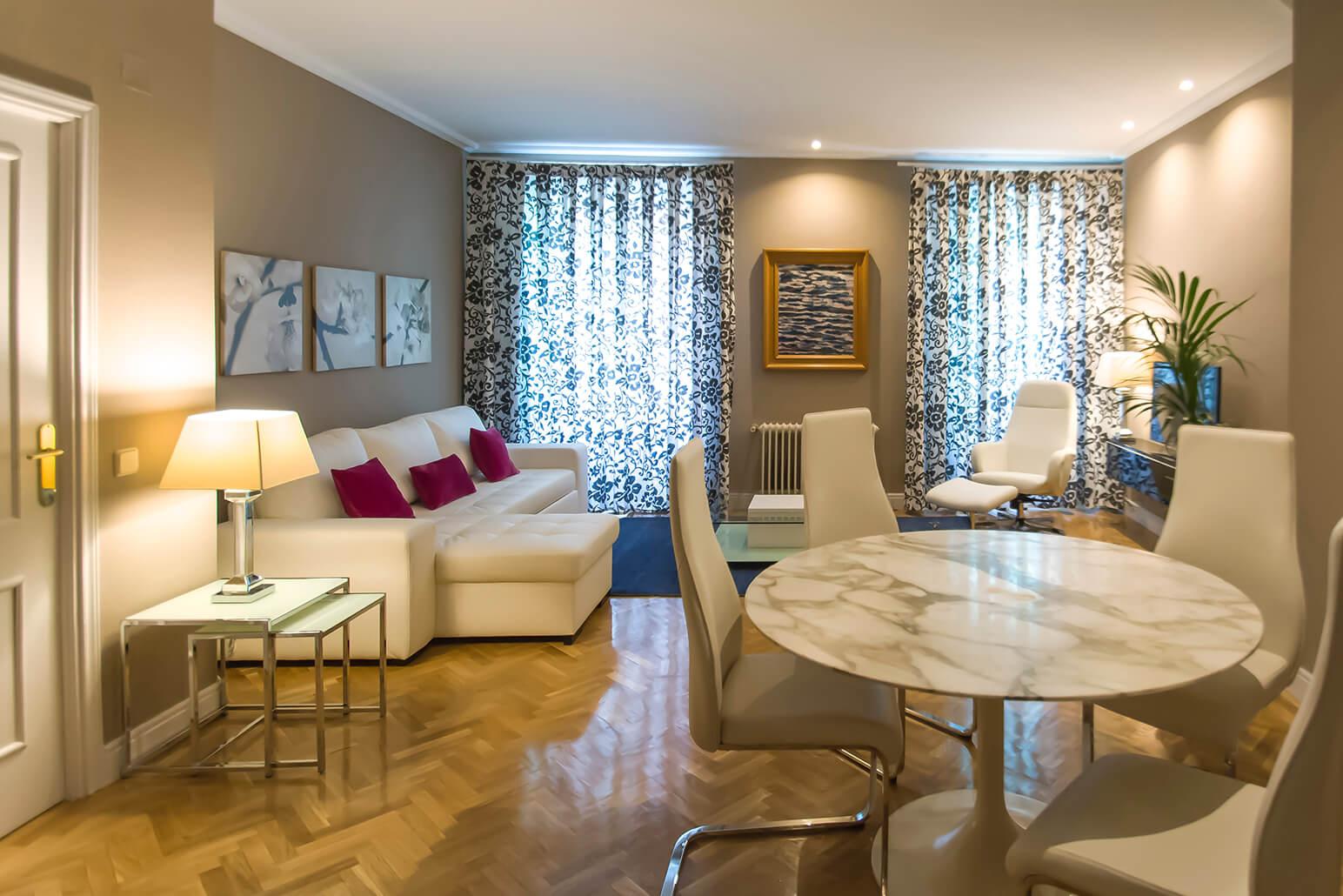 Living room at Claudio Coello 14 Apartments, Recoletos, Madrid