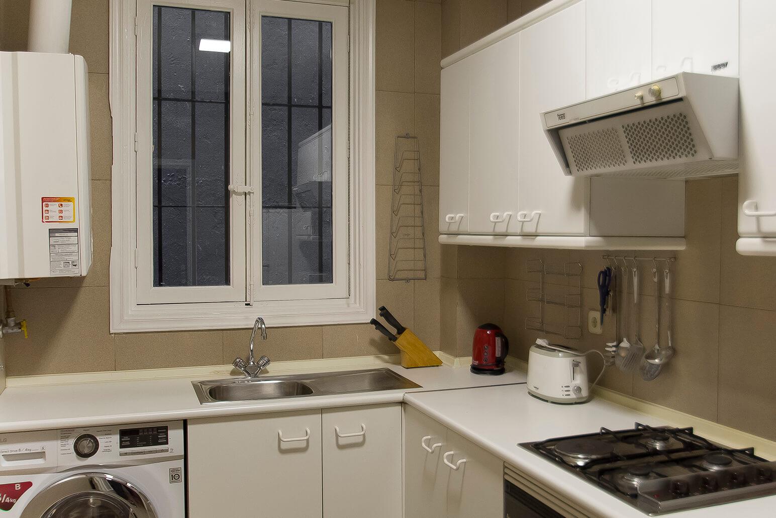 Kitchen at Claudio Coello 14 Apartments, Recoletos, Madrid