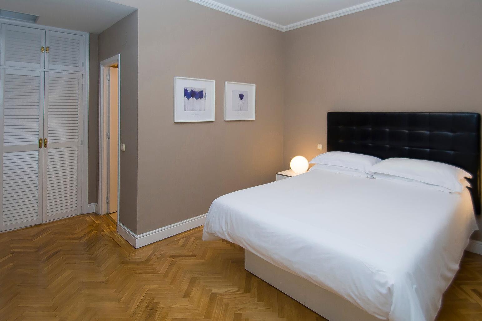 Bed at Claudio Coello 14 Apartments, Recoletos, Madrid