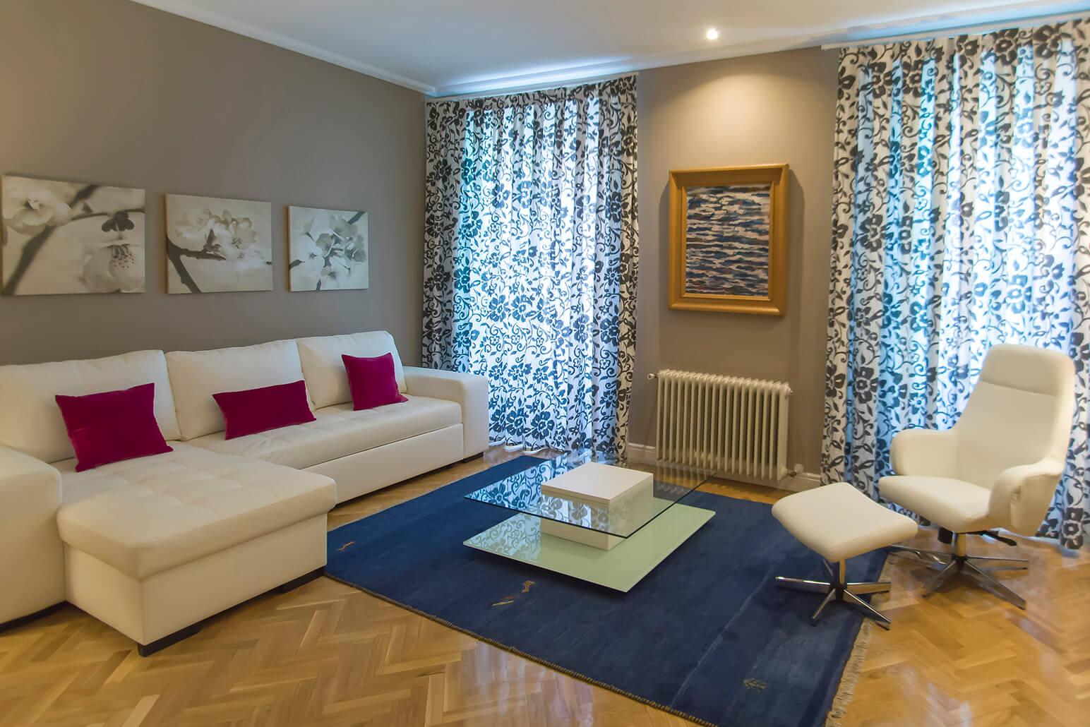Sofa at Claudio Coello 14 Apartments, Recoletos, Madrid