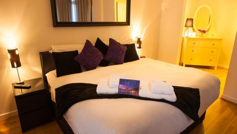 Bed at Westport Luxury Serviced Apartments
