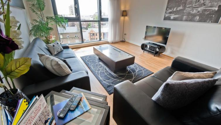 Lounge at Westport Luxury Serviced Apartments