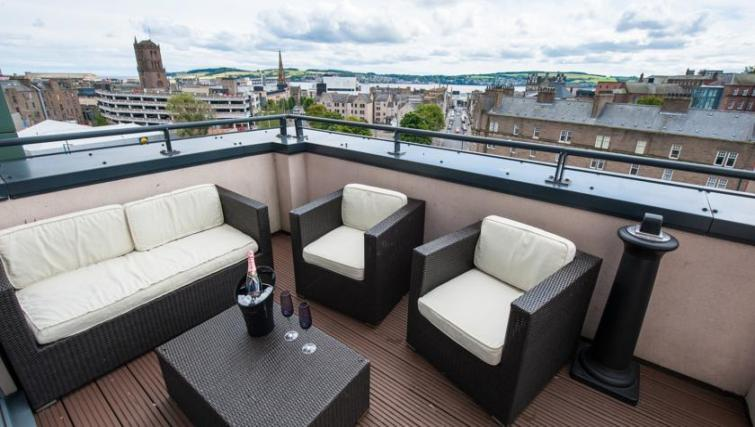 Balcony at Westport Luxury Serviced Apartments