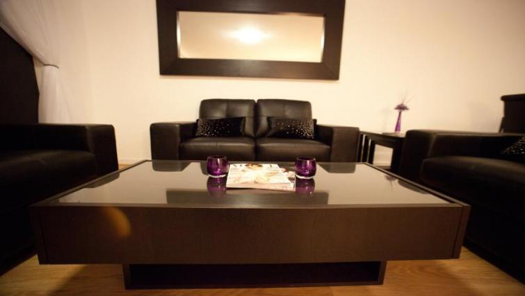 Sofa at Westport Luxury Serviced Apartments