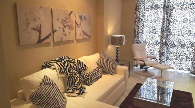 Living room at Goya Apartments
