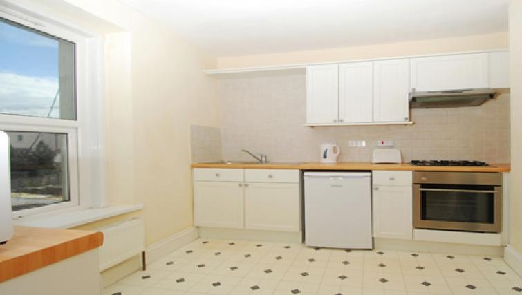 Sophisticated kitchen in Belgrave Apartments