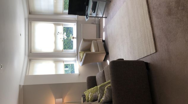 Living room at Hill Rise Court Apartment, Centre, Leatherhead