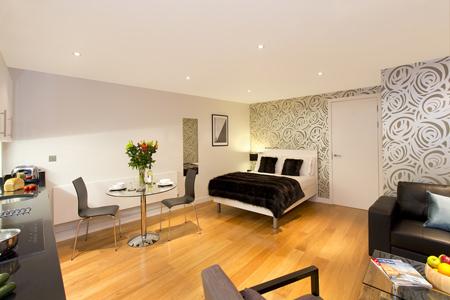 Spacious studio at SACO St Pauls - Red Lion Court