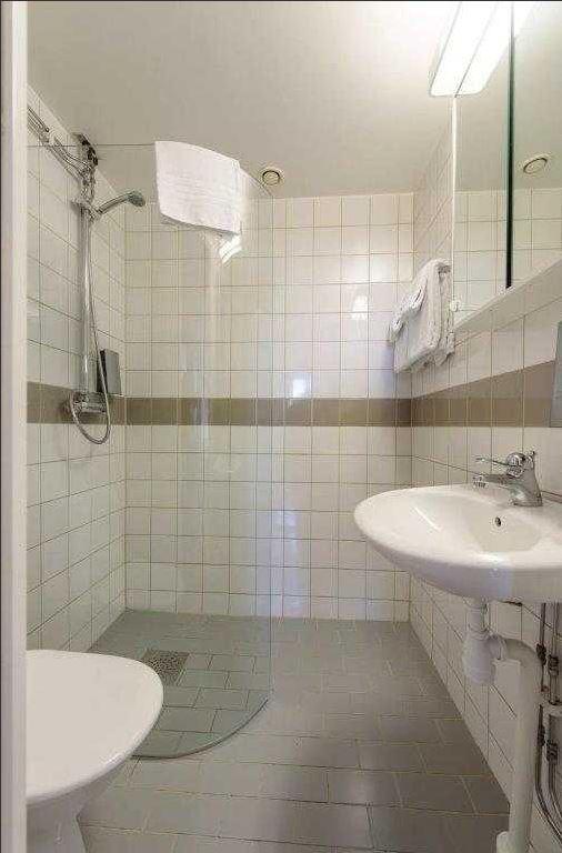 Bathroom at Stockholm Bromma Apartments