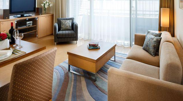 Lounge at Oakwood Apartments Shirokane Tokyo