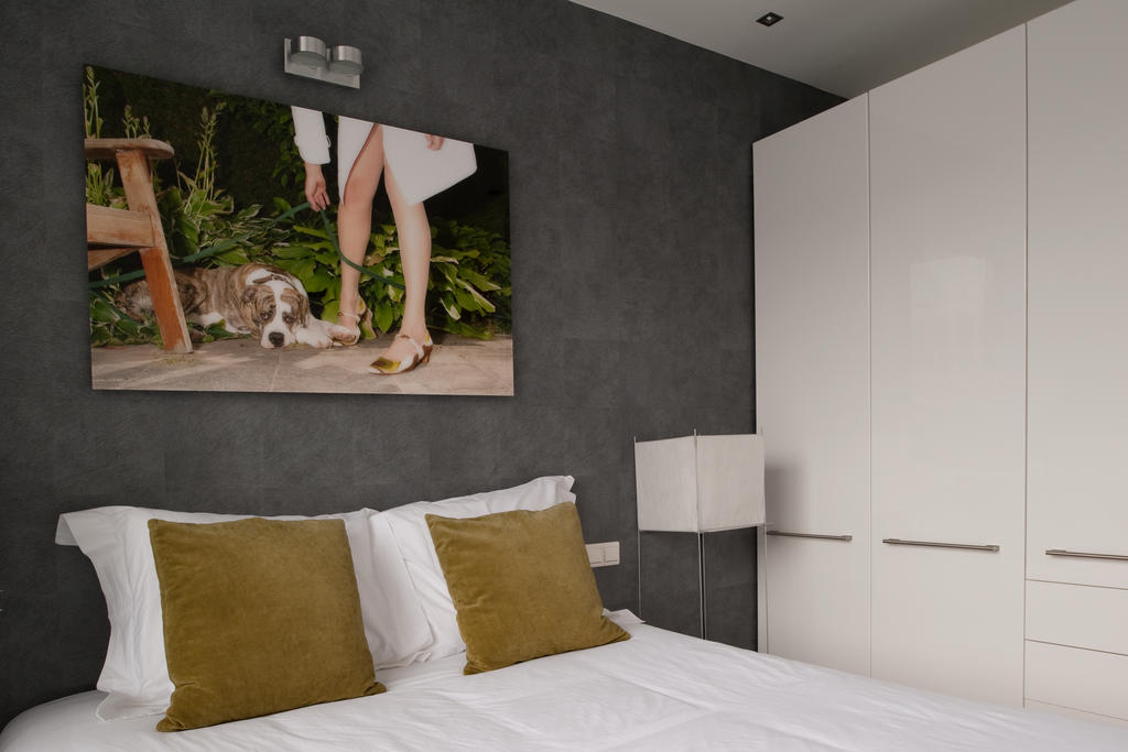 Bed at Cocoon Apartment, Centre, Rotterdam