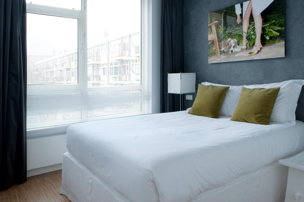 Bedroom at Cocoon Apartment, Centre, Rotterdam