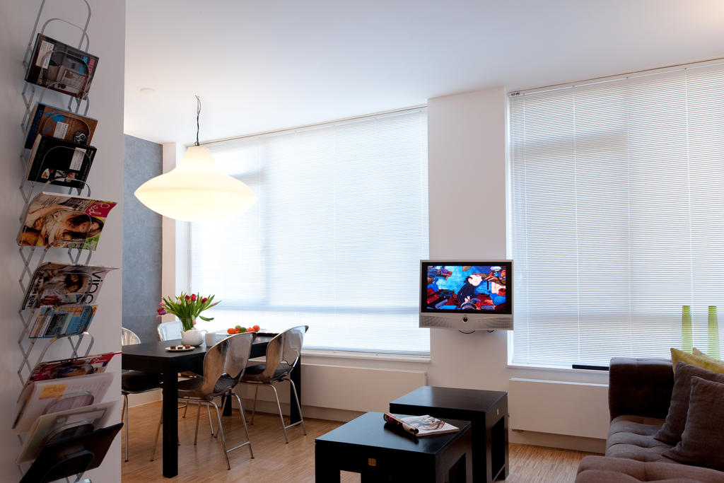 Living room at Cocoon Apartment, Centre, Rotterdam