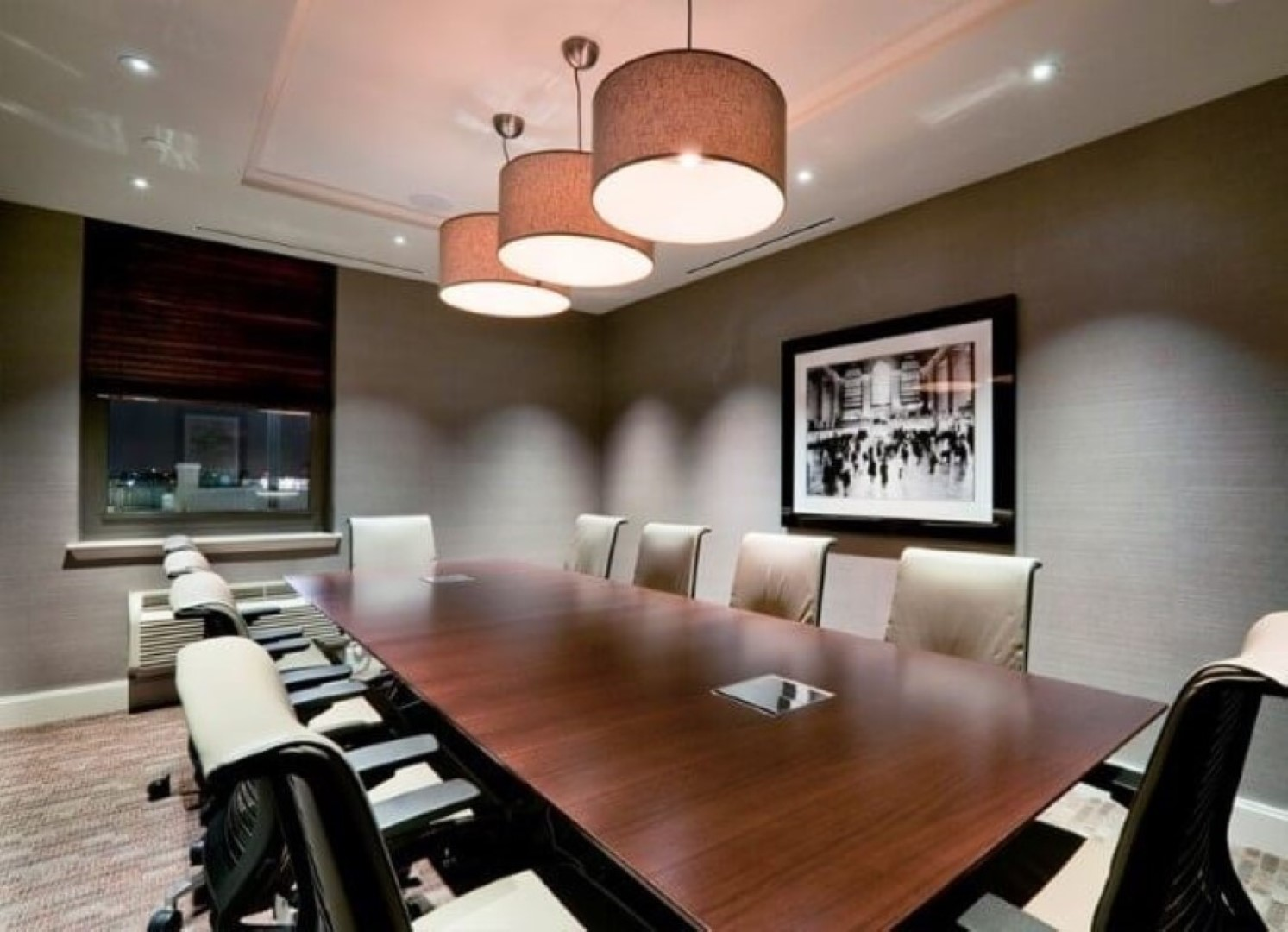 Meeting room at Monaco Apartments, Centre, Jersey City