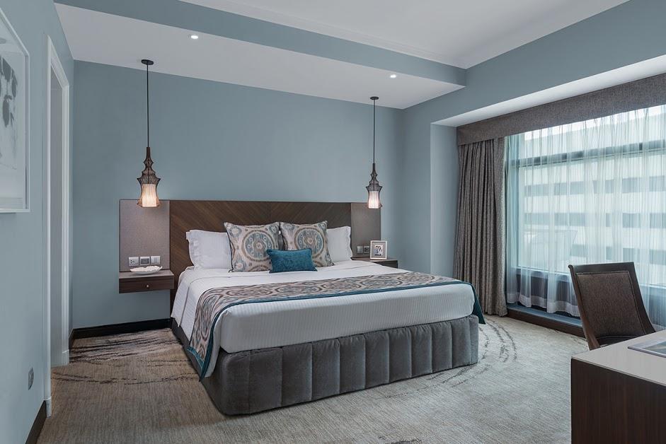 Deluxe bedroom at Ascott Makati Apartments