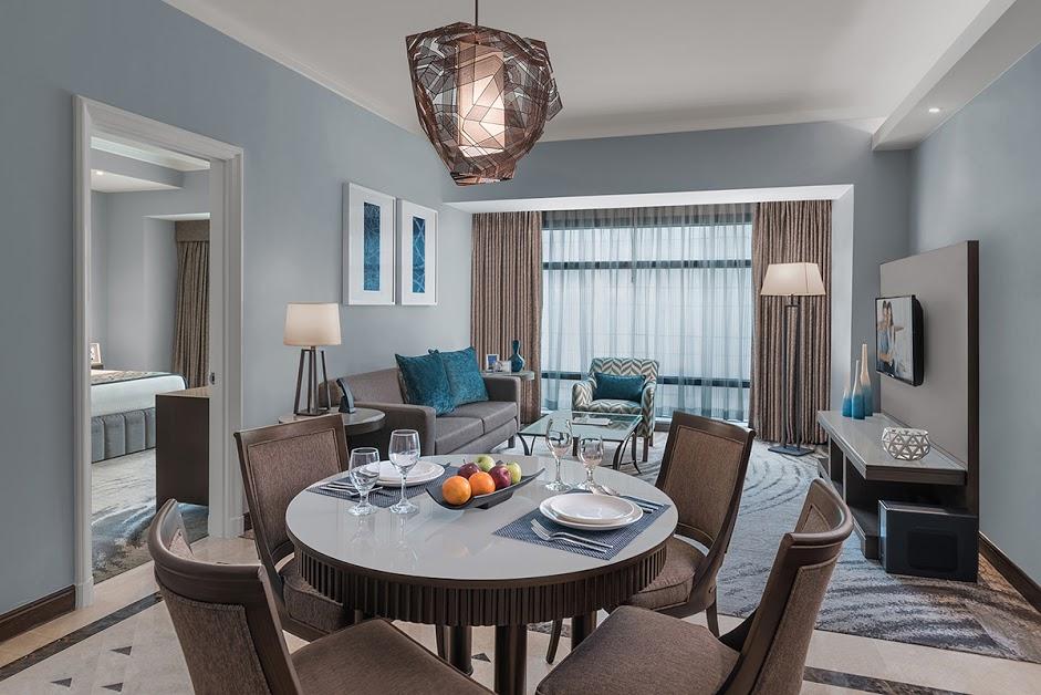Executive dining area at Ascott Makati Apartments