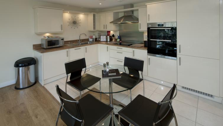 Kitchen/dining area at Equinox Place