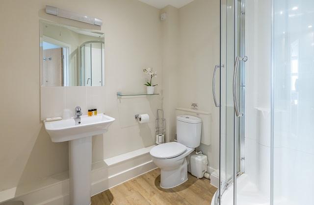 Bathroom at Central House