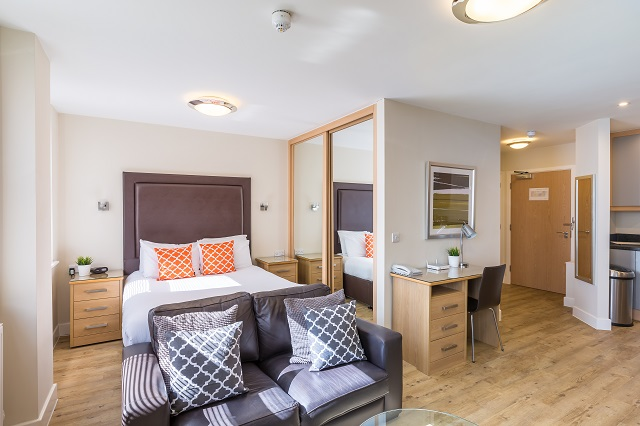 Cosy bedroom at Central House
