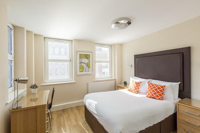 Bedroom at Central House
