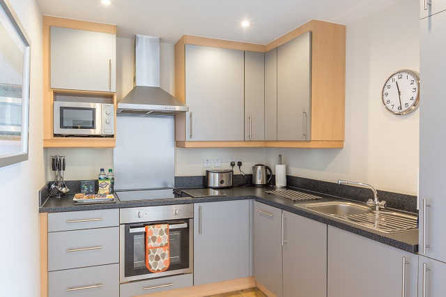 Kitchen at Central House