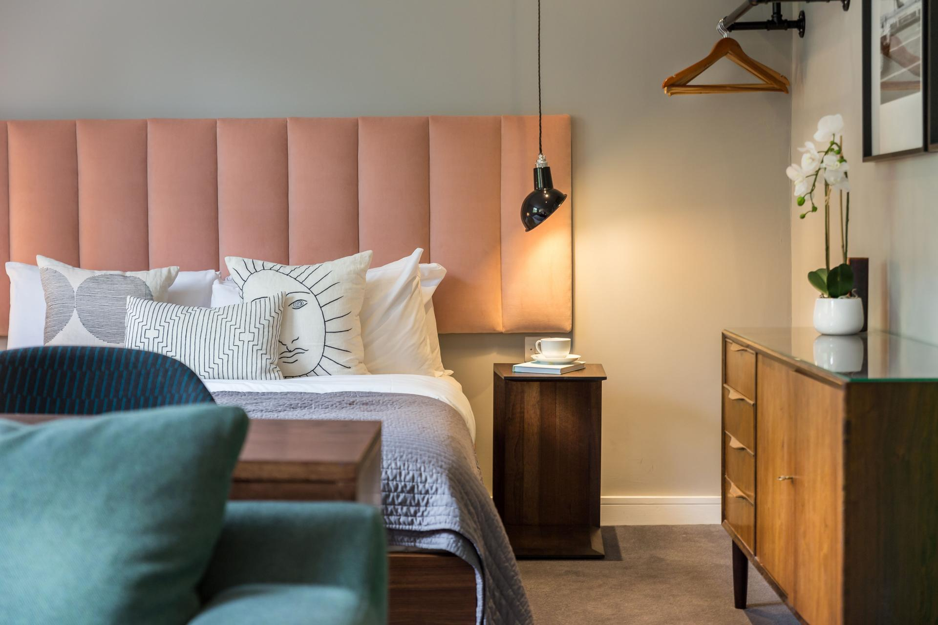 Bedroom at Native Hyde Park Apartments, Hyde Park, London