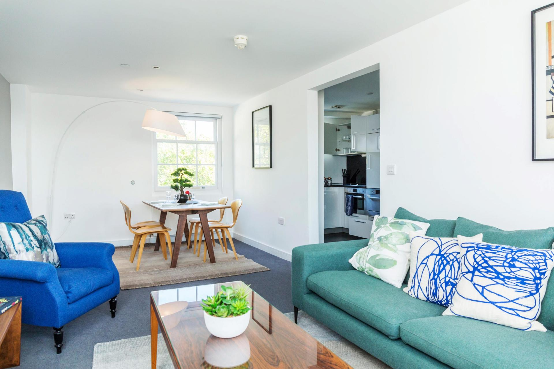 Open-plan at Native Hyde Park Apartments, Hyde Park, London