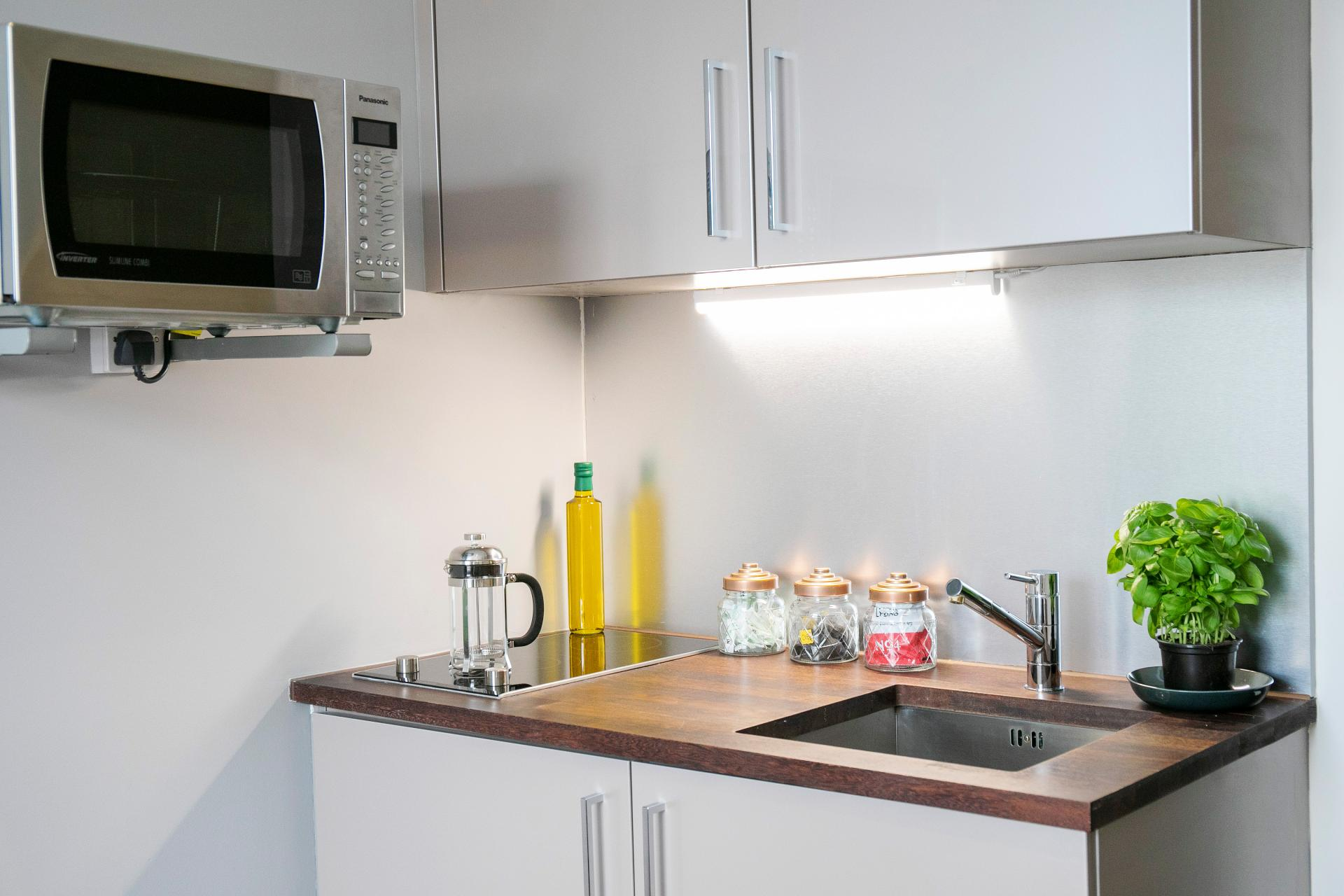 Kitchen at Native Hyde Park Apartments, Hyde Park, London