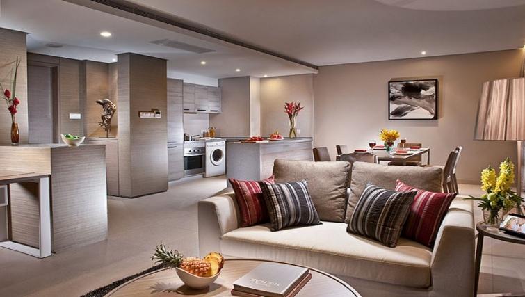 Massive living area Ascott Maillen Apartments