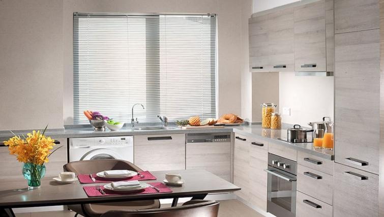 Immaculate kitchen in Ascott Maillen Apartments