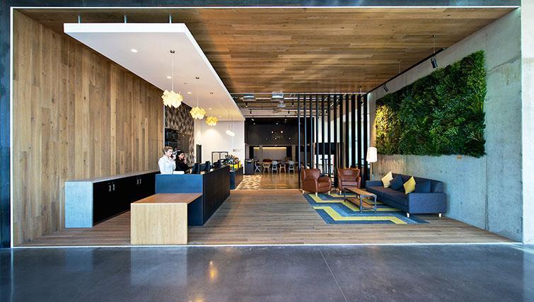 Reception at Staycity London Heathrow