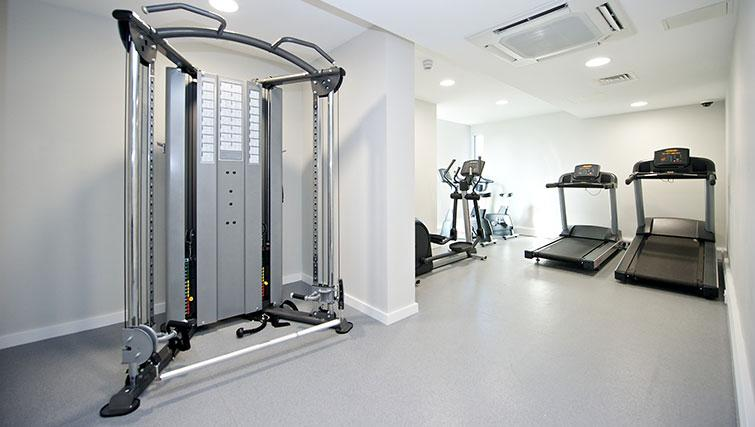 Fitness centre at Staycity London Heathrow