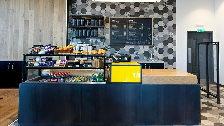 Cafe at Staycity London Heathrow