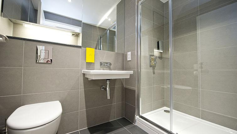 Bathroom at Staycity London Heathrow