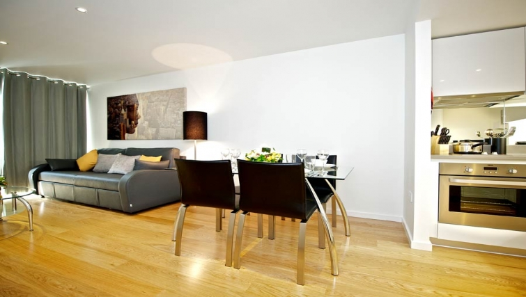 Outstanding living area in Staycity London Heathrow