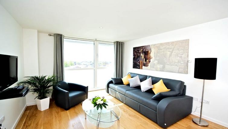 Fresh living area in Staycity London Heathrow