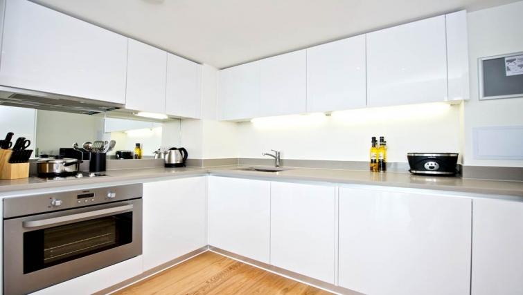 Comfortable kitchen in Staycity London Heathrow