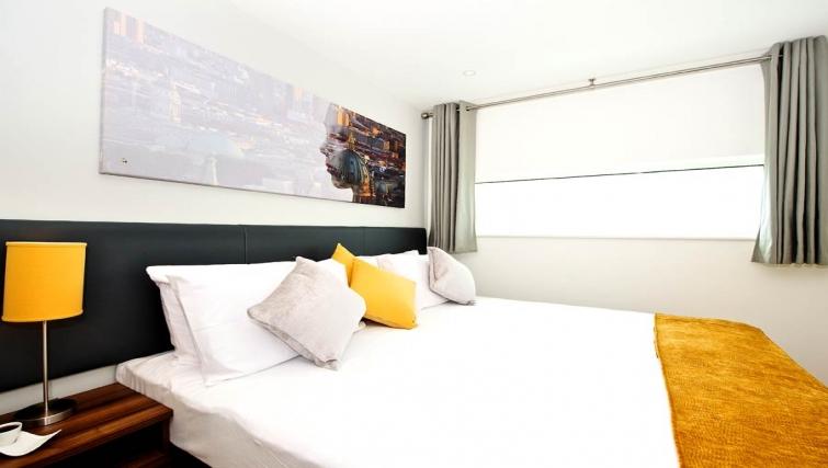 Spectacular bedroom in Staycity London Heathrow