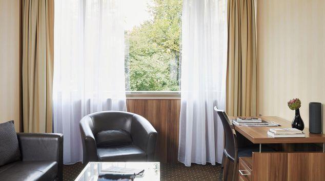 Chairs at Living Hotel Düsseldorf Apartments, Unterbilk, Dusseldorf