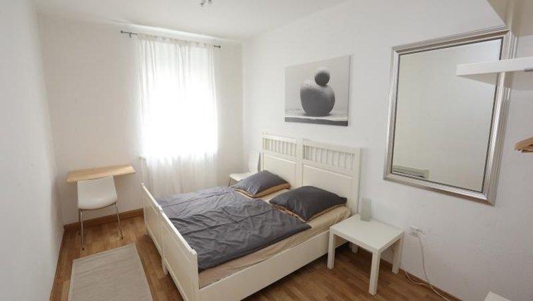 Bedroom in Nuremberg Apartments